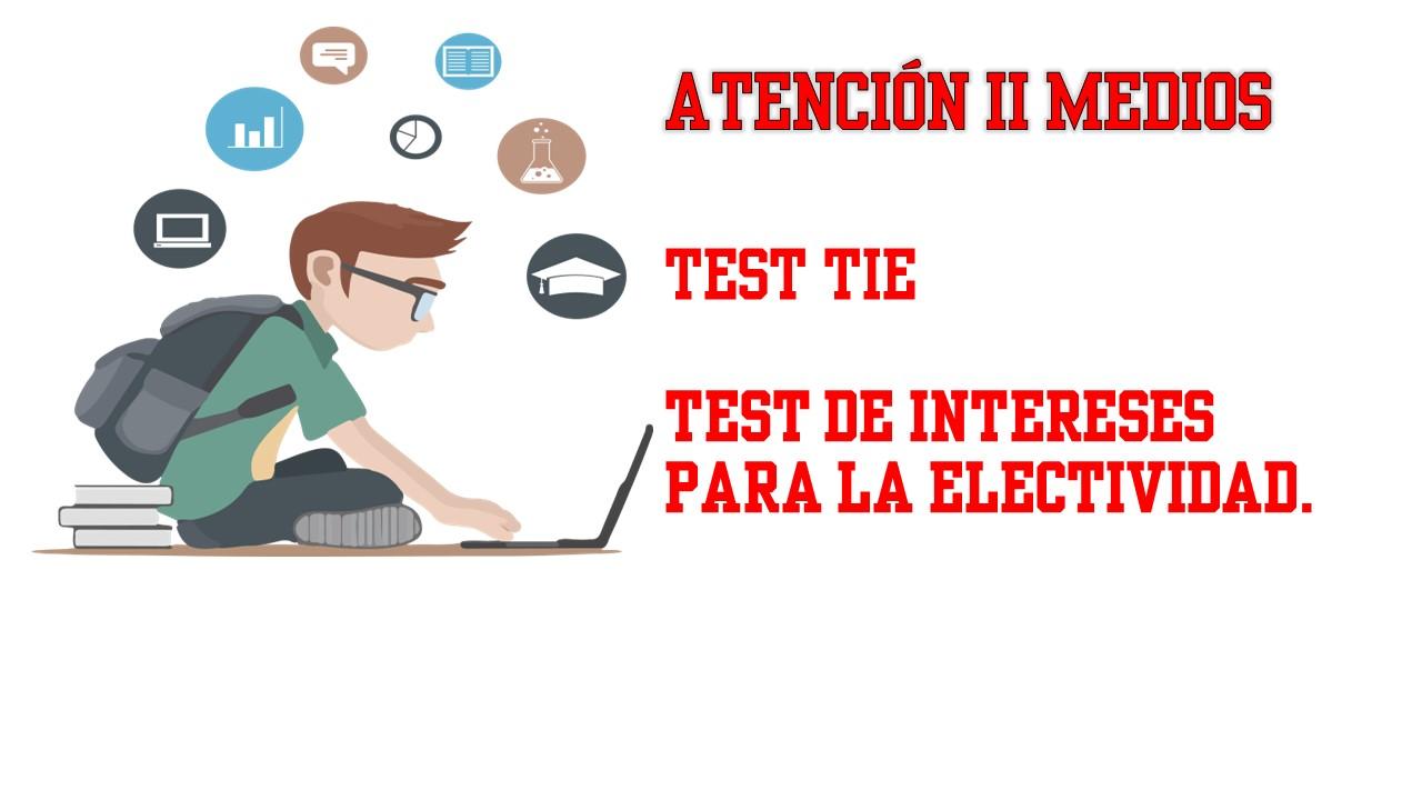 TEST ELECTIVIDAD
