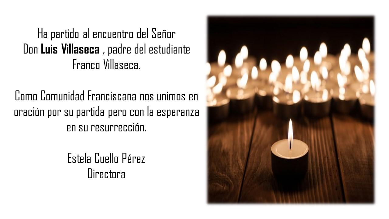 Condolencia Familia Villaseca 17-05