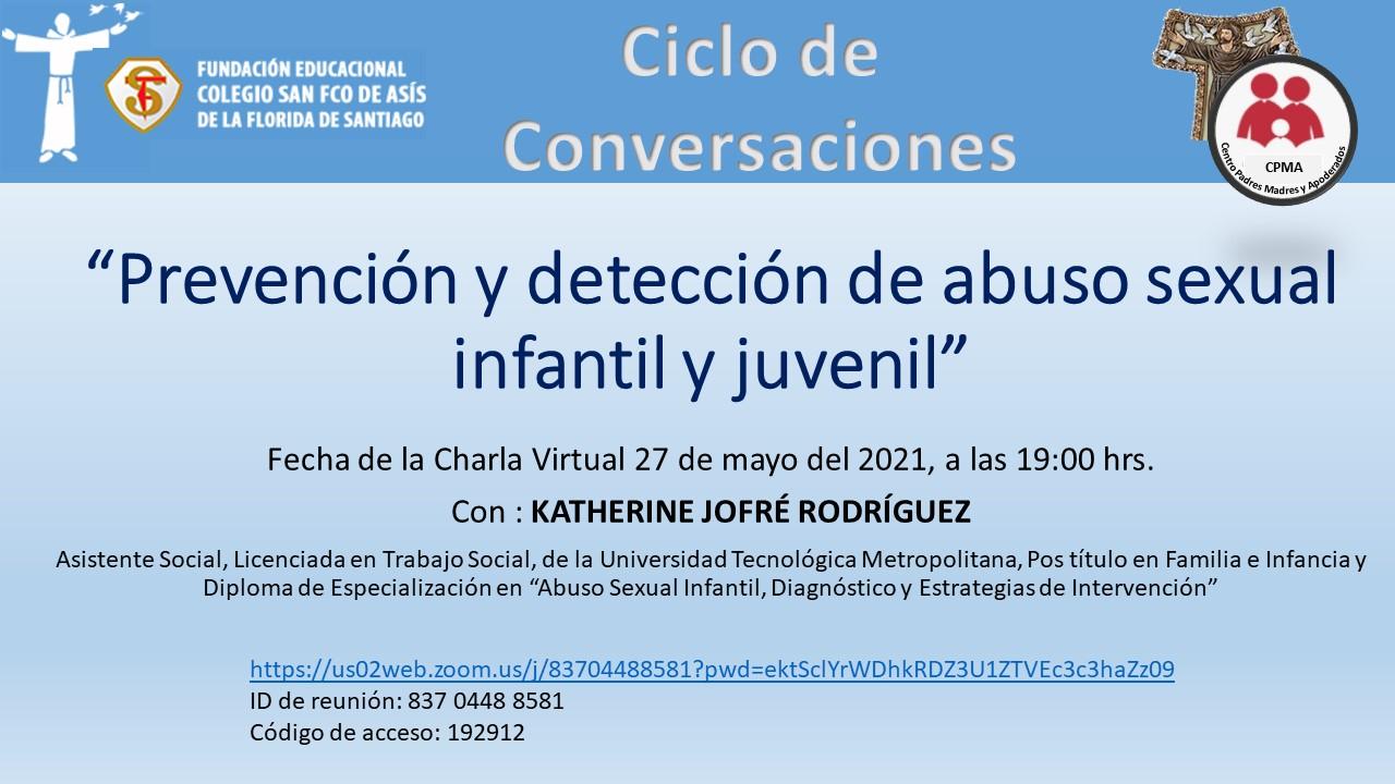 Prevención y detección de abuso sexual 2